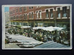 London Market PETTICOAT LANE Polly Nathan Fish Shop c1914