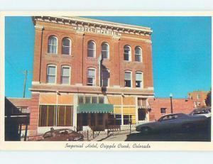 Unused Pre-1980 HOTEL Cripple Creek - Near Colorado Springs Colorado CO F6728