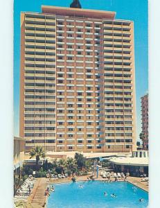 Pre-1980 SAHARA CASINO HOTEL SWIMMING POOL Las Vegas Nevada NV G9998