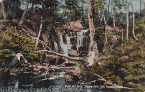 Bridal Veil Falls, Shadow River, Lake Rosseau, Ontario, Canada, 00-10s