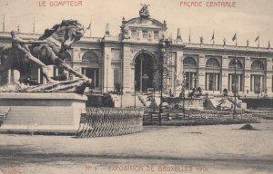 Exposition de Bruxelle , Belgium , 1910 ; Le Dompteur