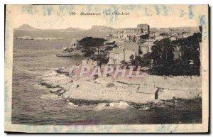 Postcard Old Marseille The Corniche