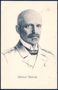 Admiral Paul Behncke unused c1915