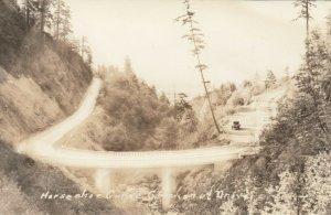 RP; Horseshoe Curve, Chackenut Drive, Oregon, 1910-20s