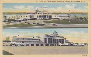 Washington DC Terminal Washington National Airport 1945