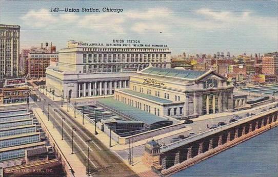 Illinois Chicago Union Station