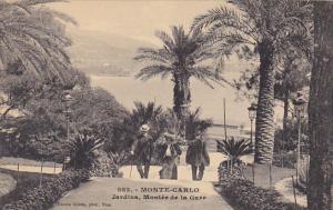 Monaco Monte Carlo Jardins Montee de la Gare