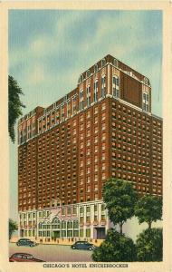 IL, Chicago, Illinois, Hotel Knickerbocker, Curteich