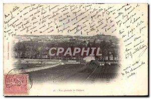 Old Postcard Vue Generale de Poitiers