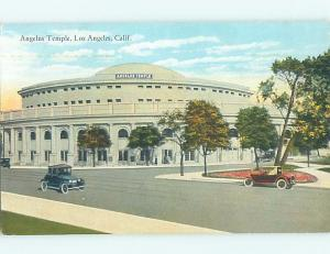 Unused Divided-Back BUILDING Los Angeles California CA ho0379