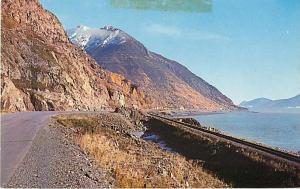 Highway & Railroad along Turnagain Arm AK Alaska Chrome PC