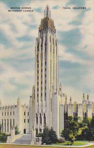 Oklahom Tulsa Boston Avenue Methodist Church