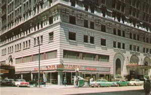 P1757 Illinois IL Chicago Downtown La Salle Hotel Postcard Old Vintage Card