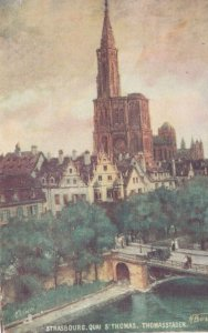 STRASBOURG ,France,1900-1910s, St Thomas ; TUCK