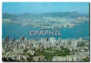 Postcard Modern Hong Kong