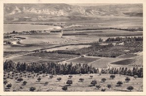 JUDAICA, Israel, Palestine, Kibbutz Jordan River Valley pre-1948, Sea of Galilee