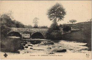 CPA CROZANT le Pont du Diable (121786)