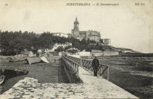 spain, FUENTERRABIA, El Desembarcadero (1920s)