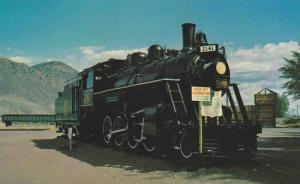 CNR Train,  Kamloops Riverside Park,  Kamloops,  B.C.,  Canada,  40-60s