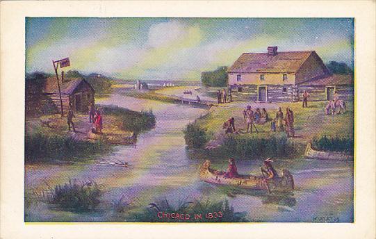 Illinois Chicago In 1833