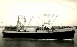 Canada - Quebec. Clarke Steamship Line, SS North Coaster - RPPC