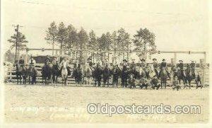 Charlie Barns Rodeo Western Cowboy, Cowgirl Unused