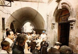 Israel Jerusalem Via Dolorosa The Sixth Station