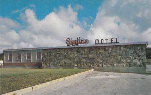 Exterior,  Skyline Motel,  Kenmount Road, St. John's,  Newfoundland,  Canada,...