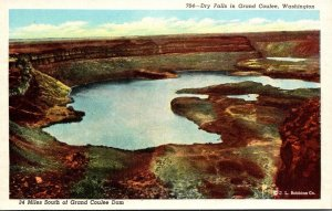 Washington Dry Falls In Grand Coulee