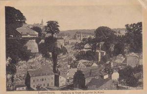 Faubourg Du Grand Et Quartier St. Michel, Luxembourg, 1900-1910s