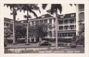 Panama Canal Zone Ancon Hotel Tivoli 1946 Real Photo RPPC