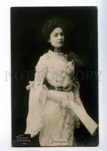 156157 Young VYALTSEVA Russian Gypsy SINGER operetta PHOTO old