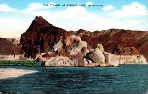 Nevada The Pyramid At Pyramid Lake