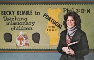 Baptist World Association Evangalism Teaching Children 1980s Preacher Postcard