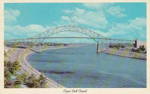 Massachusetts Cope Cod Cape Cod Canal And Sagamore Bridge 1966