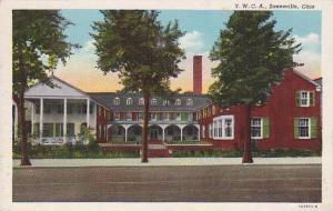 Ohio Zanesville Y W C A Building Curteich
