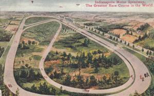 INDIANAPOLIS , Indiana , PU-1910; Indianapolis Motor Speedway