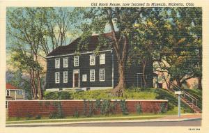 Marietta Ohio~Old Block House~Inside Museum~1940s PC