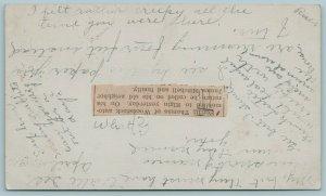 Woodstock IL~I Felt Creepy When Merritt Ferritt Was There~Newspaper Error 1911