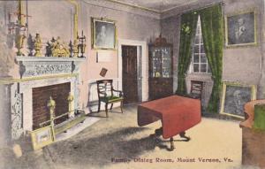 Virginia Mt Vernon Family Dining Room