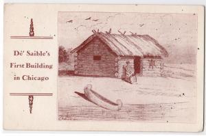 De Saible's First Building, Chicago IL