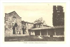 Convento E Chiesa Di S. Francesco, Fiesole (Florence), Italy, 1900-1910s