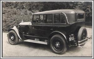 Old Car Photo Non-Postcard