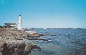 New England Lighthouse - An early navigator's aid