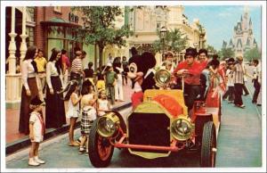 FL - Riding Down Main St., Walt Disney World