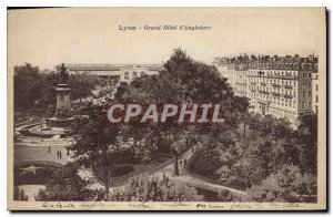 Old Postcard Lyon Grand Hotel d'Angleterre