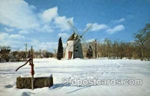 Eastham's Old Windmill, Cape Cod, Massachusetts, USA Windmills Postcard Post ...