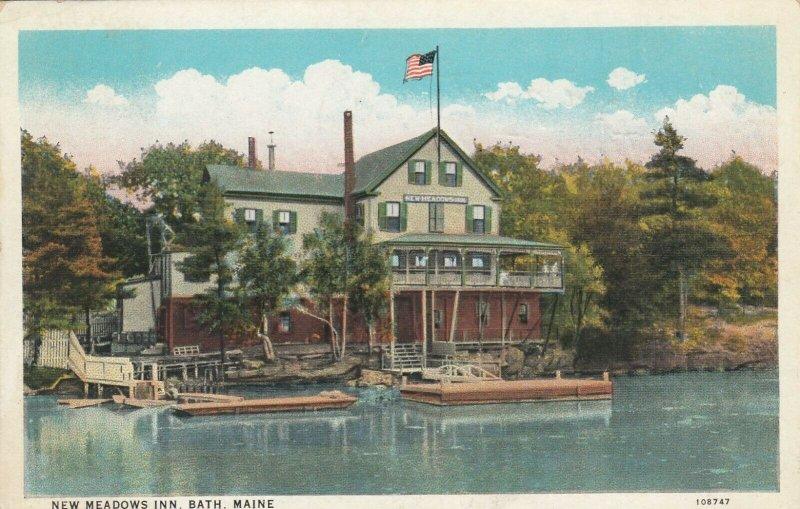 BATH , Maine, 1934 ; New Meadows Inn