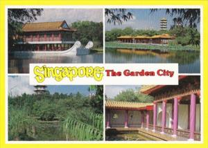 Singapore Chinese Pavilions Pagodas Palatial Courtyards & Moongates