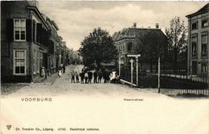 CPA VOORBURG Heerenstraat NETHERLANDS (602186)